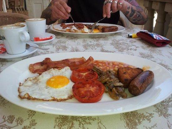 Restaurante Pizzeria Samoa: Breakfast