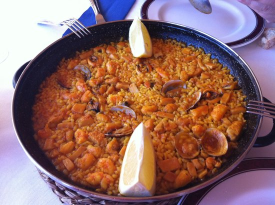 Restaurante Las Vegas: Paella del chef