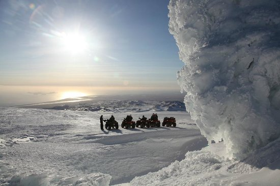 Obyggdaferdir ATV: Eyjafjallajokull