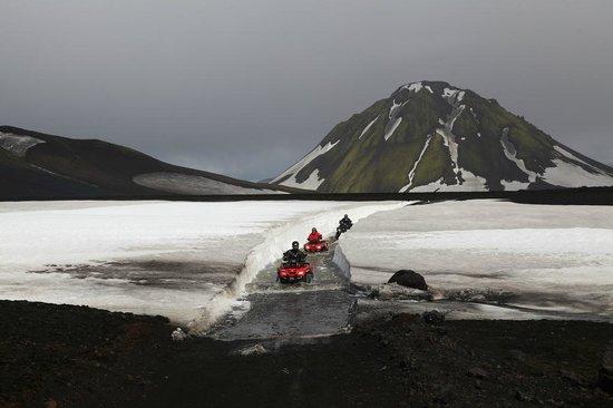 Obyggdaferdir ATV: Ice and water