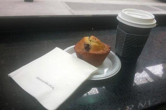 Dean & DeLuca Cafe : muffin ai mirtilli