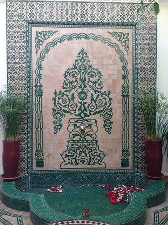 Riad Granvilier : ground floor detail