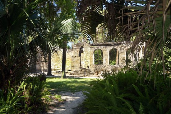 Sugar Mill Ruins: From the hiking trail