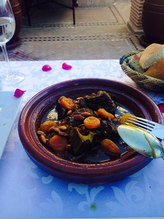 Riad Granvilier : cooked by the amazing paola