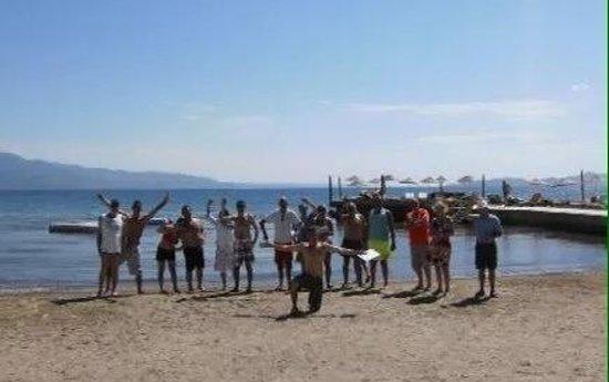 Golden Beach Hotel: Boules is popular