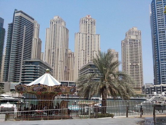 Dubai Marina Yacht Club: Outside the Club