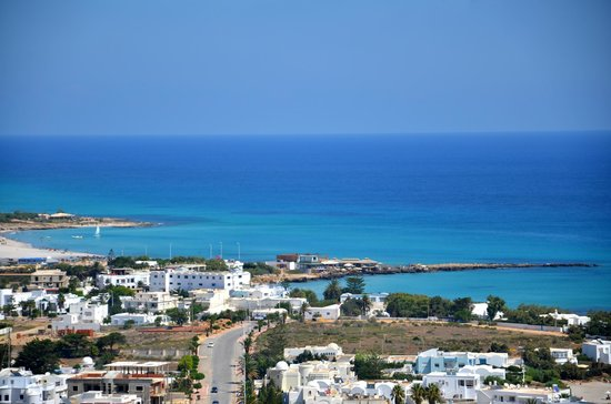 Kelibia: vue station balneaire
