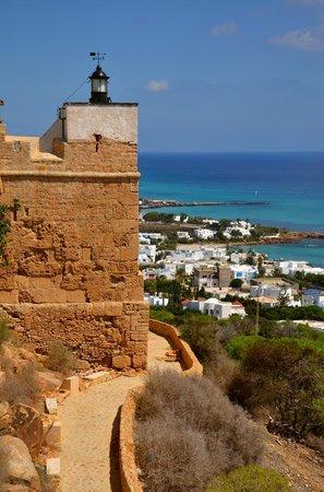 Kelibia: vue du fort