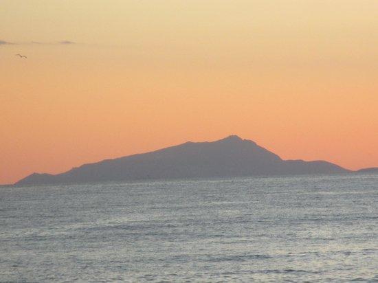 Hotel Miramare Stabia: coucher de soleil