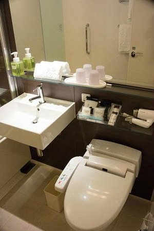 Hotel Granvia Hiroshima : bathroom