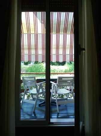Hotel Mon Repos: Balcone Camera - Piano Terra
