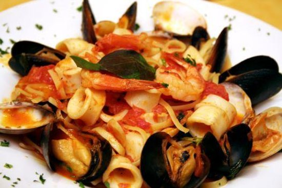 Amalfis Restaurant and Bar : Linguine Amalfi