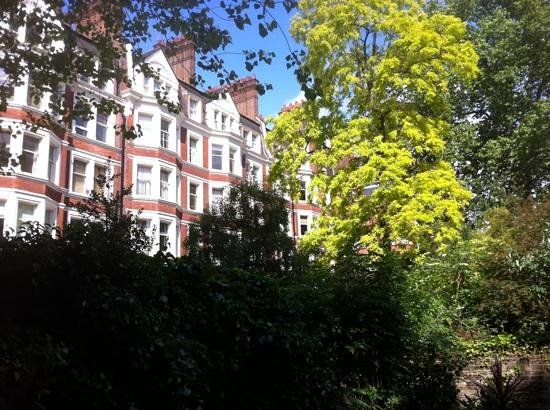 Garden at Regency House Hotel