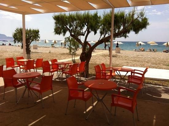 Fito Aqua Bleu Resort: uitzicht vanaf beachbar