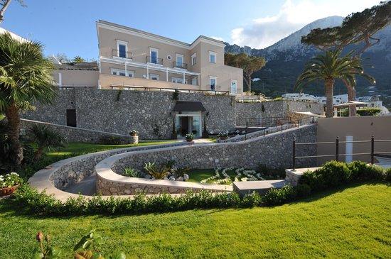 Villa Marina Capri Hotel & Spa: Villa Marina building