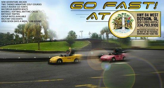 Adventureland : Go fast!