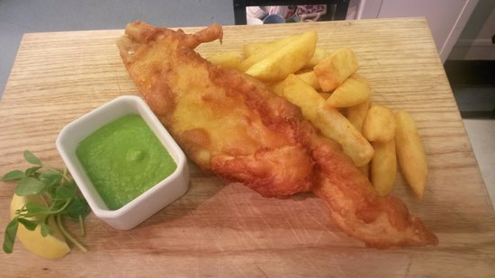 Blenheim House: great fish and chips