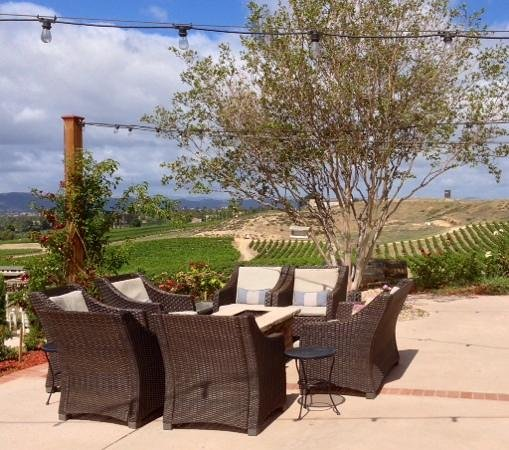 The INN at Europa Village: View from the patio