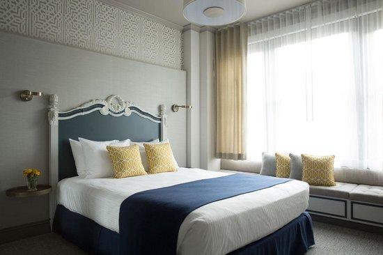 Warwick San Francisco Hotel: Deluxe Room