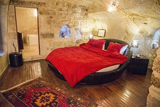 Cappadocia Castle Cave Hotel: Zimmer