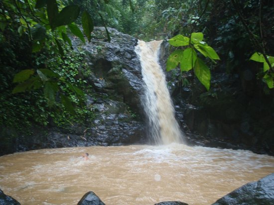 Costa Rica Waterfall Tours: Second Falls