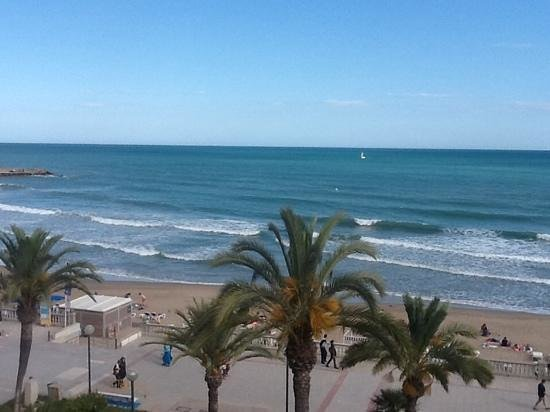 Hotel La Santa Maria: view from window
