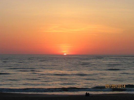 The Saint Augustine Beach House: Sunrise from the balcony