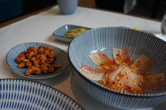 Restaurant Tim Raue: Appetisers - Pork Belly