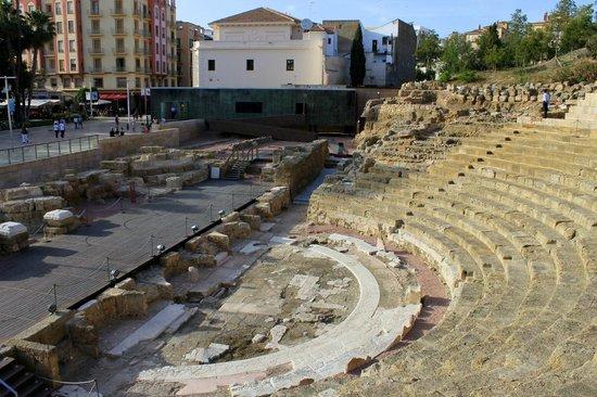 Teatro Romano de Málaga: Teatro Romano