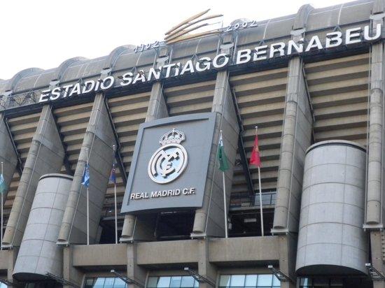 Radisson Blu Hotel, Madrid Prado: Stadio Santiago Bernabeu