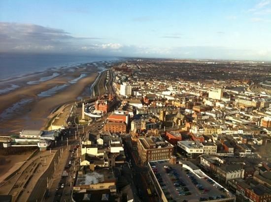 Wilsons Hotel - Blackpool Tower View: Blackpool Tower.