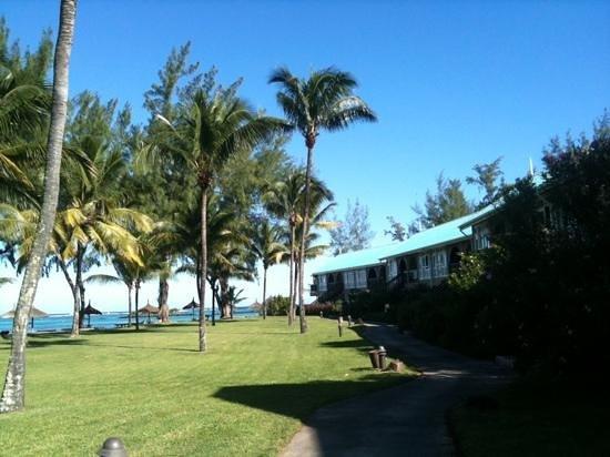 Club Med La Pointe aux Canonniers : vers les chambres calmes