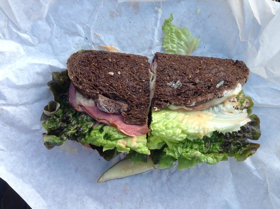 Great Harvest Bread Company: Grilled Reuben - delicious!
