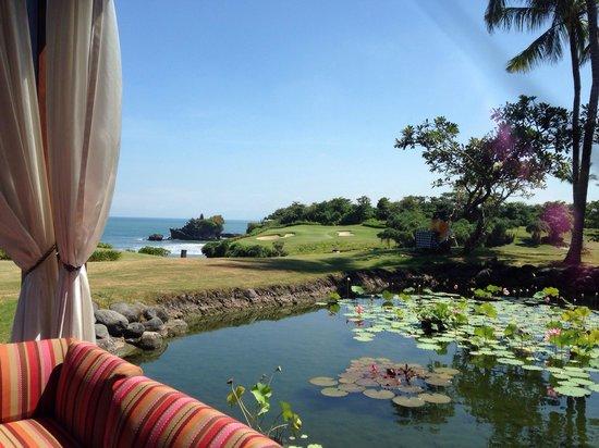 Pan Pacific Nirwana Bali Resort: Breakfast view