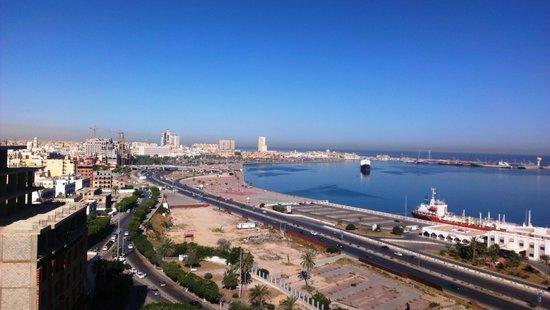 Al Mahary Radisson Blu Hotel, Tripoli: Room view