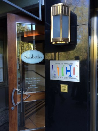 Sarabeth's Central Park South : Кафе Sarabeth's