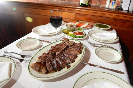 Joseph's Steakhouse: Just a small sampling of whats on the menu