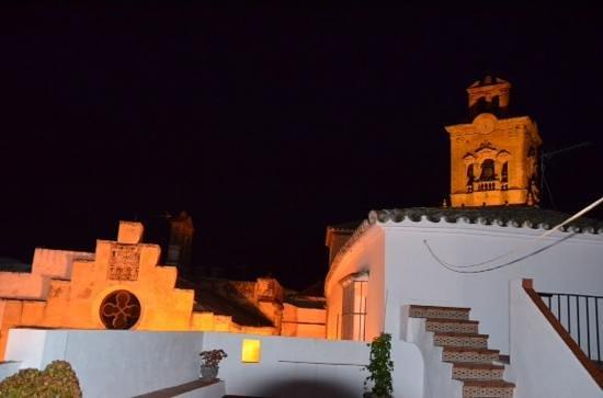 Casa Campana : rooftop view, night
