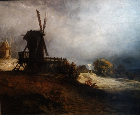 De Mesdag Collection : G. Michel: The Windmill