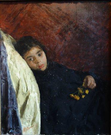 De Mesdag Collection : A. Mancini: The Sick Child