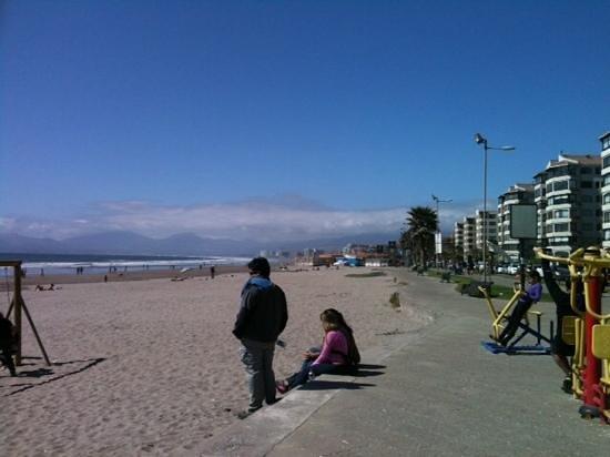 Dia de sol en avenida del mar...