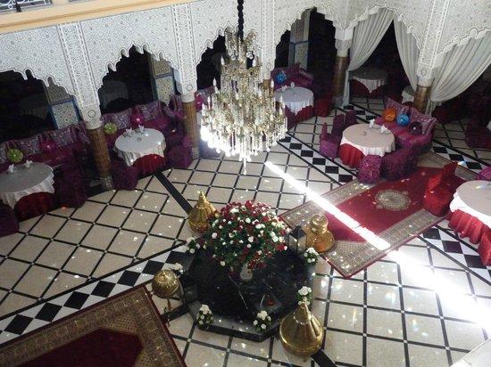 Restaurant El Bahia : L'interieur