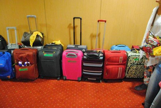Hotel Principe Lisboa: Donde guardamos las maletas