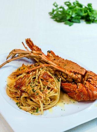 L'Acquario Degustazione: LINGUINE ALL'ARAGOSTA