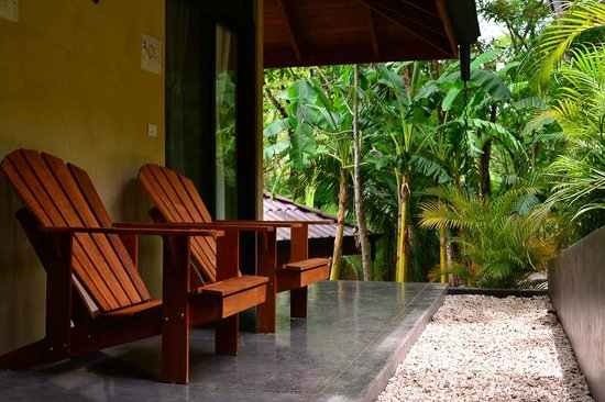 The Bodhi Tree Yoga Resort : Relax and take in the view outside your room.