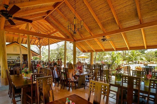 The Bodhi Tree Yoga Resort : Enjoy meals in our open-air dining area.