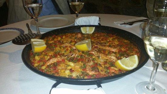 Restaurante Rias Bajas: Ottima Paella