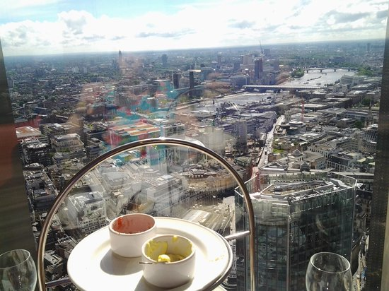 Groupon Afternoon Tea With Champagne Vertigo 42 London
