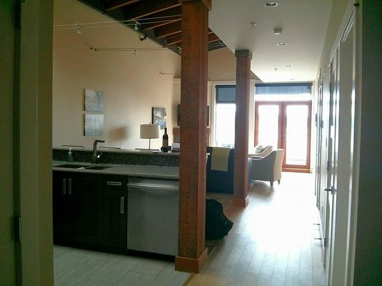 Mariner's Loft: View from the main entry hall