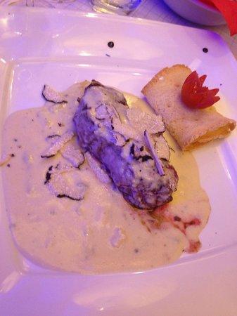 TIROVINO: Filetto gorgonzola e tartufo